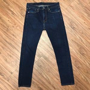 Levi's 510 Skinny Jeans 32x32 Dark Blue